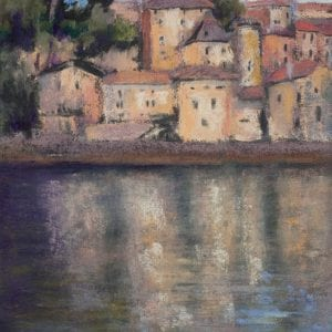 "Puy Leveque Reflections - 9"" x 12"""